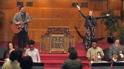 """""""Our God"""" -  Calvary Baptist Church Handbell Choir and Worship Team   The RingNYC"""