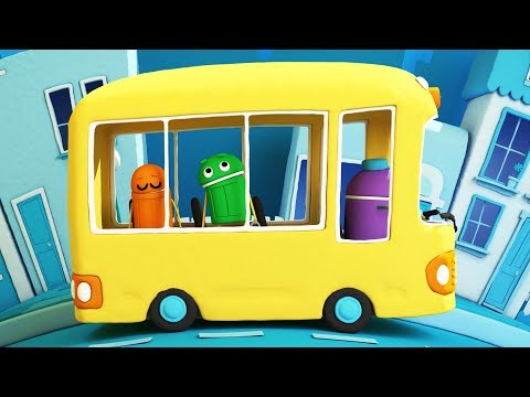 StoryBots   School Songs: The Wheels On The Bus   Nursery Rhymes For Children
