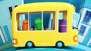 StoryBots | School Songs: The Wheels On The Bus | Nursery Rhymes For Children