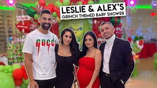 Leslie & Alex's Grinch Themed Baby Shower | Dhar and Laura
