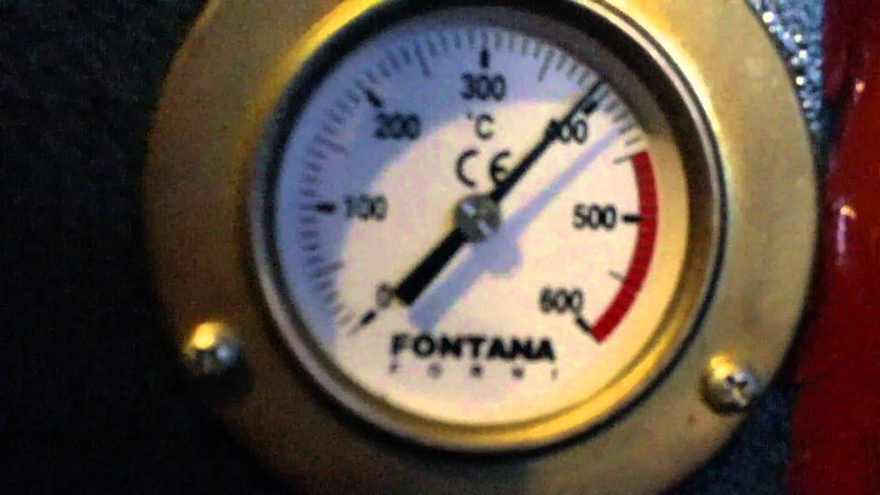 forno a legna Fontana - YouTube