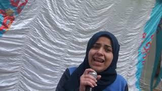 أداء نجومى رائع أبكى الحضور للطالبة حبيبة محمد خيرت 3ع
