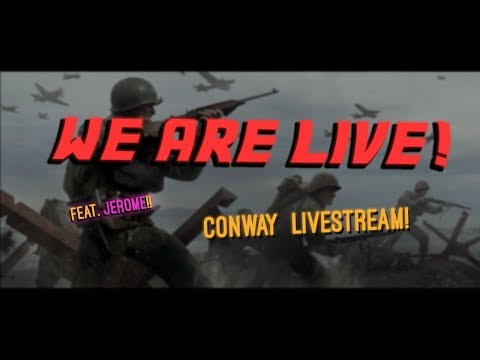 Conway AND Jerome Play WW2!