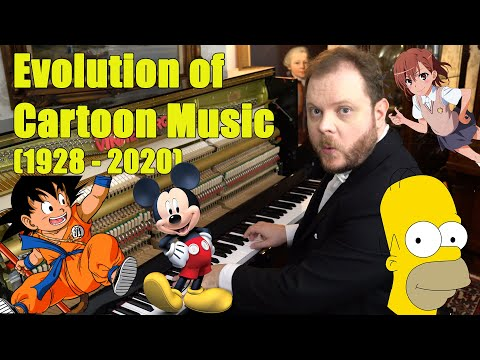 Evolution of Cartoon