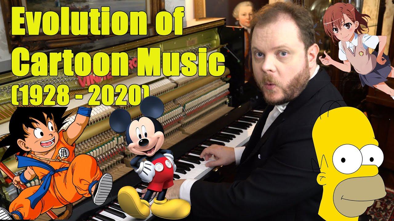 Evolution Of Cartoon Music 1928 2020 Youtube