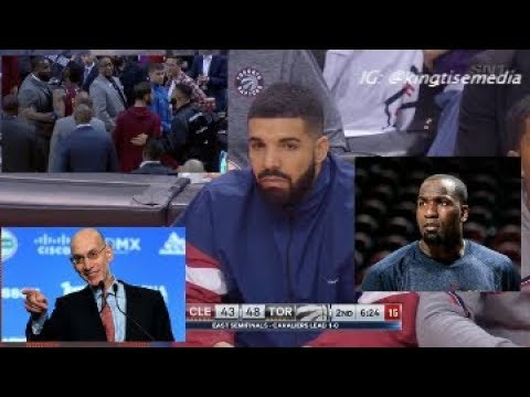 NBA WARNS Drake After His Fight w/ Kendrick Perkins & Perkins Reacts Ahead Of Cavs vs Raptors Game 2
