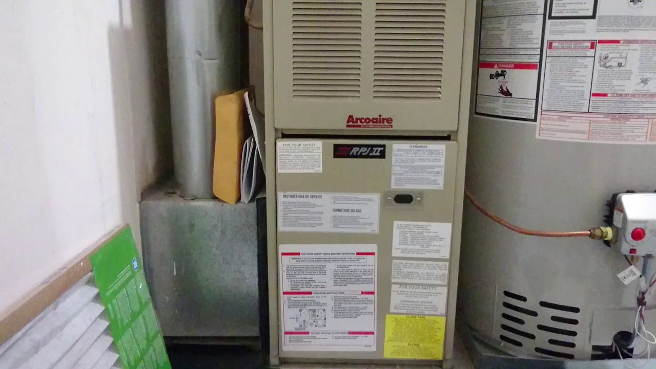 how to change or replace a furnace filter [ 1280 x 720 Pixel ]