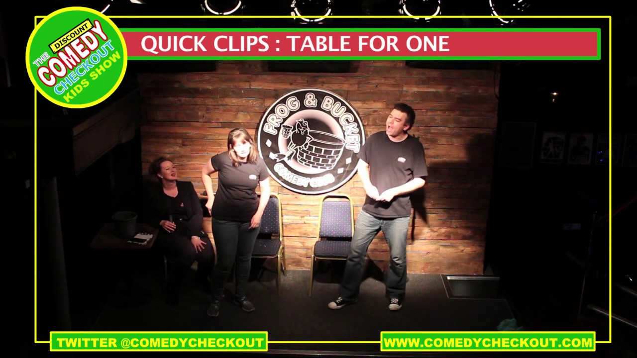 Discount Comedy Checkout : Kids Show Quick Clips