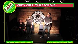 Discount Comedy Checkout - Kids Shows - Quick Clips : Table For One