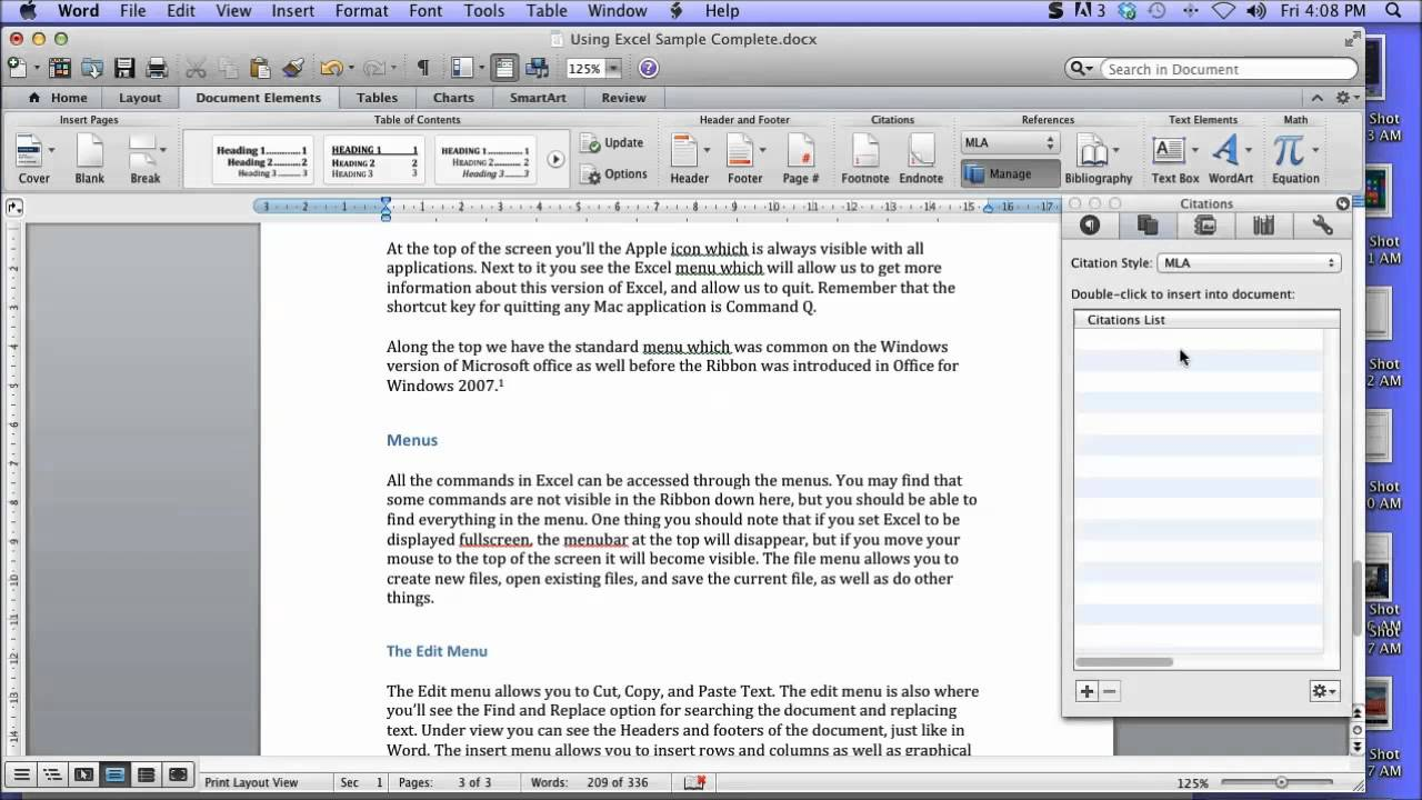 Write arabic in word 2011 mac