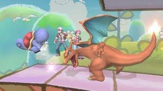 "Super Smash Bros Brawl HD #5 ""POKEMON TRAINER Gameplay"" and ""The Legendary Power"""