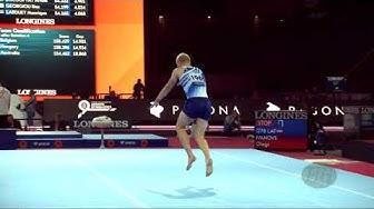 SORAVUO Emil (FIN) - 2019 Artistic Worlds, Stuttgart (GER) - Qualifications Floor Exercise