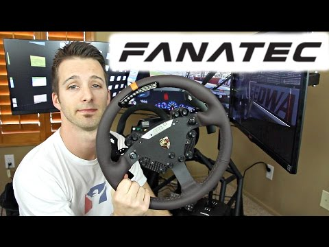 Fanatec Clubsport V2 Wheelbase & Porsche 918 Wheel REVIEW