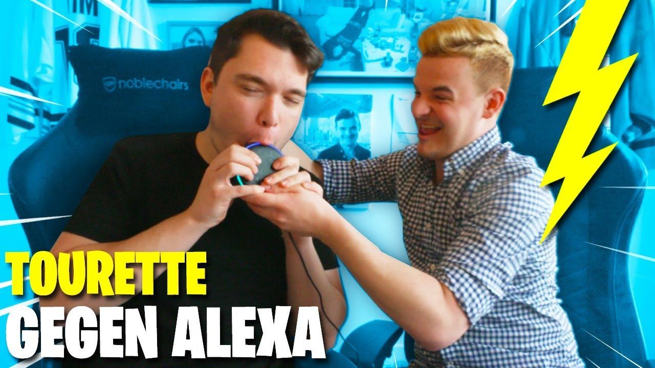 TOURETTE vs ALEXA  - Wie reagiert sie auf GISELA? Gewitter im Kopf