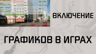 Включення графіків FPS і часу кадрів в іграх.