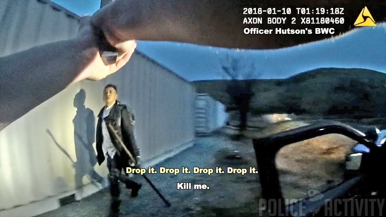 Image result for Bodycam Footage Shows Fatal Shooting Of Suspect Carrying Hatchet