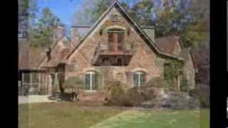 French Country Grand Cottage, 7 acres, & outbuildings for sale in Morgan County, Georgia