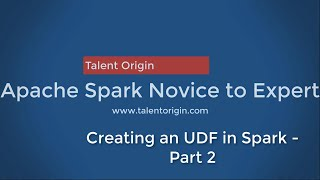 Creating UDF and use with Spark SQL