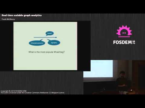 FOSDEM 2016 - Aw1126 - Real Time Scalable Graph Analytics