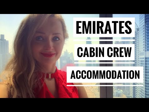 Emirates cabin crew accommodation - Millennium Tower