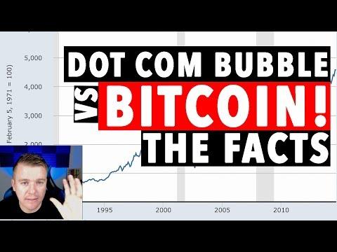 Bitcoin Bubble! DOT COM BUBBLE NOT THE SAME!