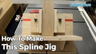 From adding decorative flair, to making the miter joint stronger, this spline jig is worth building. Find project plans and details at http://