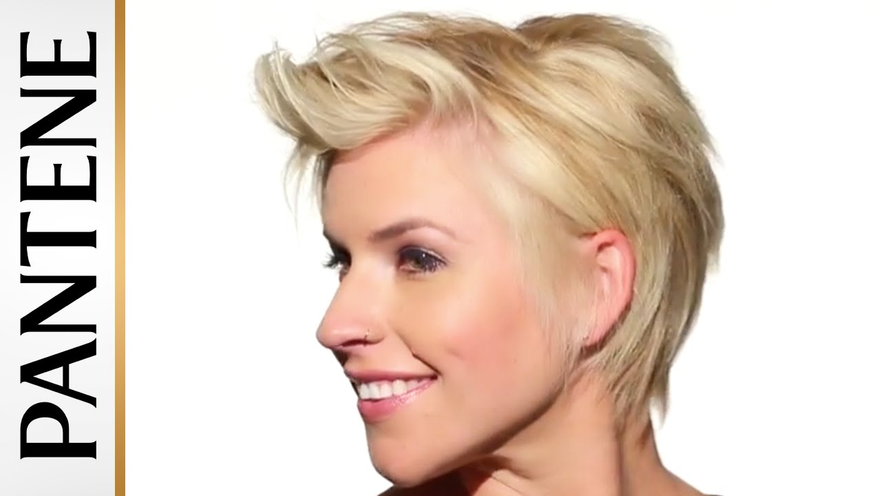 U Cut Hairstyle For Short Hair: Textured Messy Pixie Cut: Easy Hairstyles For Short Hair
