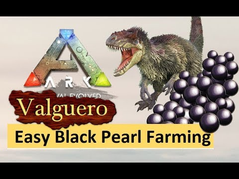 Repeat ARK Valguero : Easy Black Pearl & Silica Pearl Farming Guide