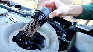 HOW TO: Jeep Cherokee Engine Oil Change 3.2L V6 (2014-2018 KL)