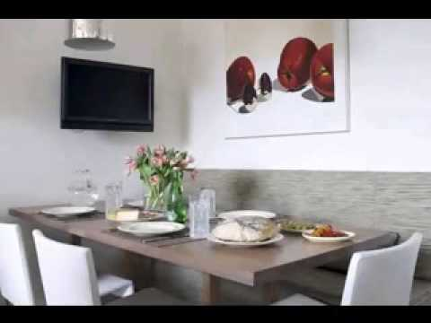 dining room banquette seating - youtube