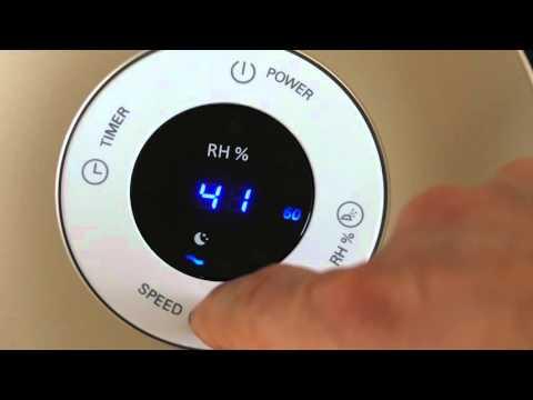 Philips Luftbefeuchter HU4803/01 (TESTSIEGER) Design ✓ | Hygiene ✓ | Leise ✓