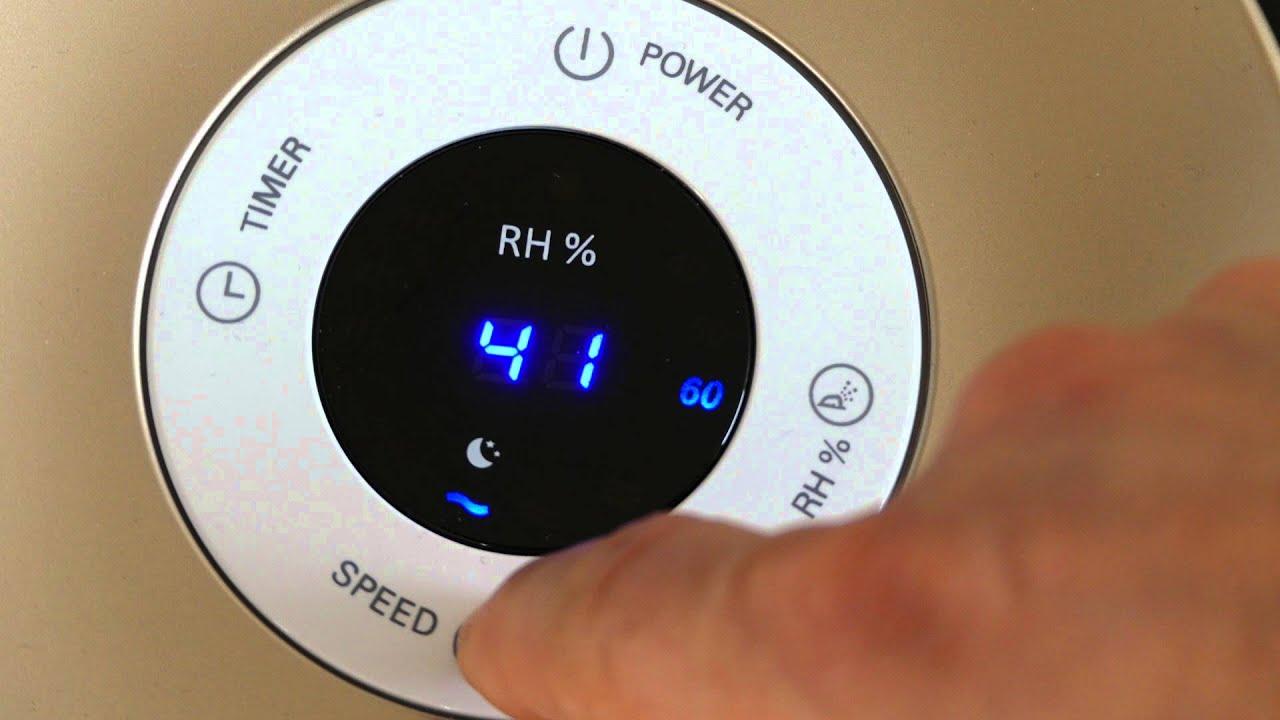 philips luftbefeuchter hu4803 01 testsieger design hygiene leise youtube. Black Bedroom Furniture Sets. Home Design Ideas