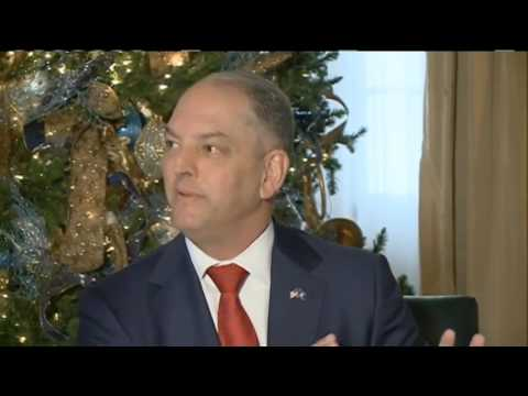 Hear what Gov. John Bel Edwards had to say about successes, challenges for the state in 2016