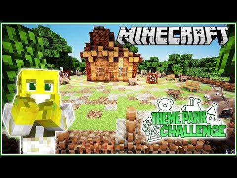 Shrek's Swamp! | Minecraft Theme Park Challenge | Ep.11