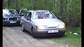 Ventspils stories 1994 year part 2 ( test Drive Ford Scorpio)