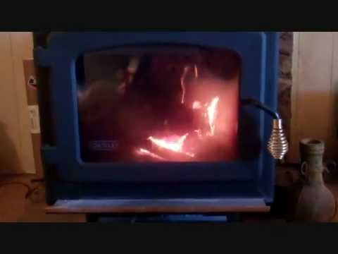 - Drolet Myriad Wood Stove Review - YouTube