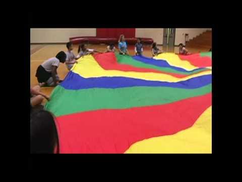 Middle School Parachute Activities
