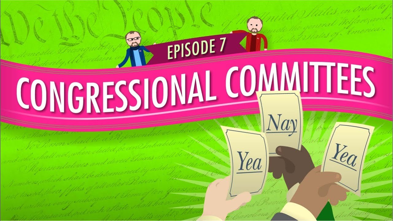 Congressional Committees: Crash Course Government and ...