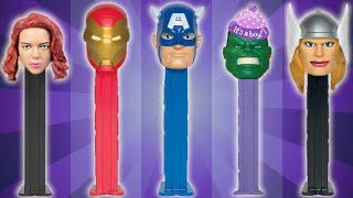 Avengers Assemble Finger Family Song ★ PEZ SuperHeroes Daddy Finger Rhyme ★ Mommy Finger Where Are U