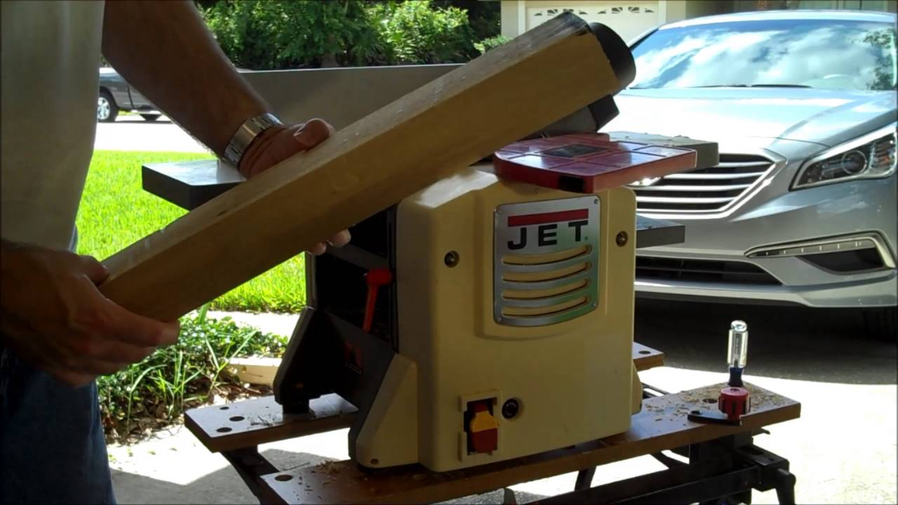 Jet Benchtop Jointer Planer Review