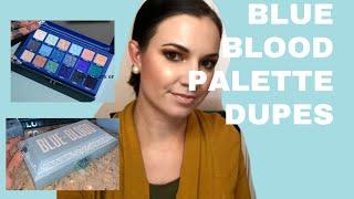 Blue Blood Palette Dupes | Shop Your Stash
