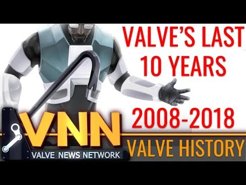 What's Valve Done Since 2008? - Valve's Last 10 Years