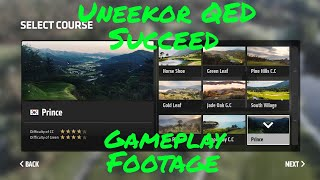 Uneekor QED Succeed Golf Simulator Gameplay