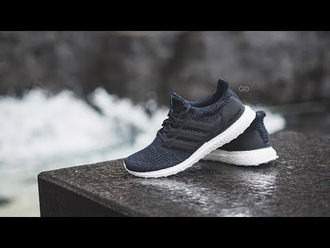 """Adidas Ultra Boost Parley """"Legend Ink"""" (Run With the Oceans): Review & On-Feet"""