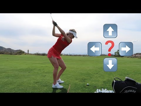 HOW TO SHAPE GOLF SHOTS // FADE, DRAW, HIGH, & LOW