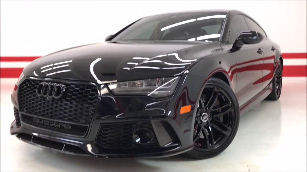 2016 Audi Rs7 Prestige 118k Msrp Custom Black Out Package