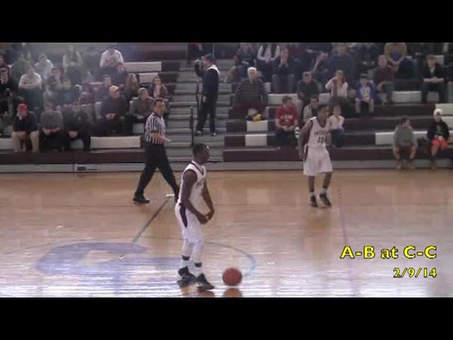 Acton Boxborough Varsity Boys Basketball @ Central Catholic 2/9/14