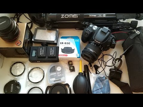 Canon EOS 200D 250D. Полезные апгрейды и аксессуары  с Aliexpress