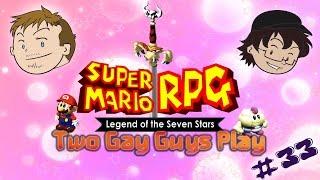 Two Gay Guys Play - Super Mario RPG #33 Disinterested Handjob