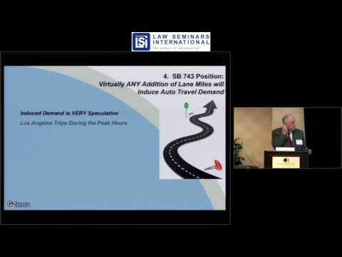 New SB 743 CEQA Guidelines for Analyzing Transportation Impacts